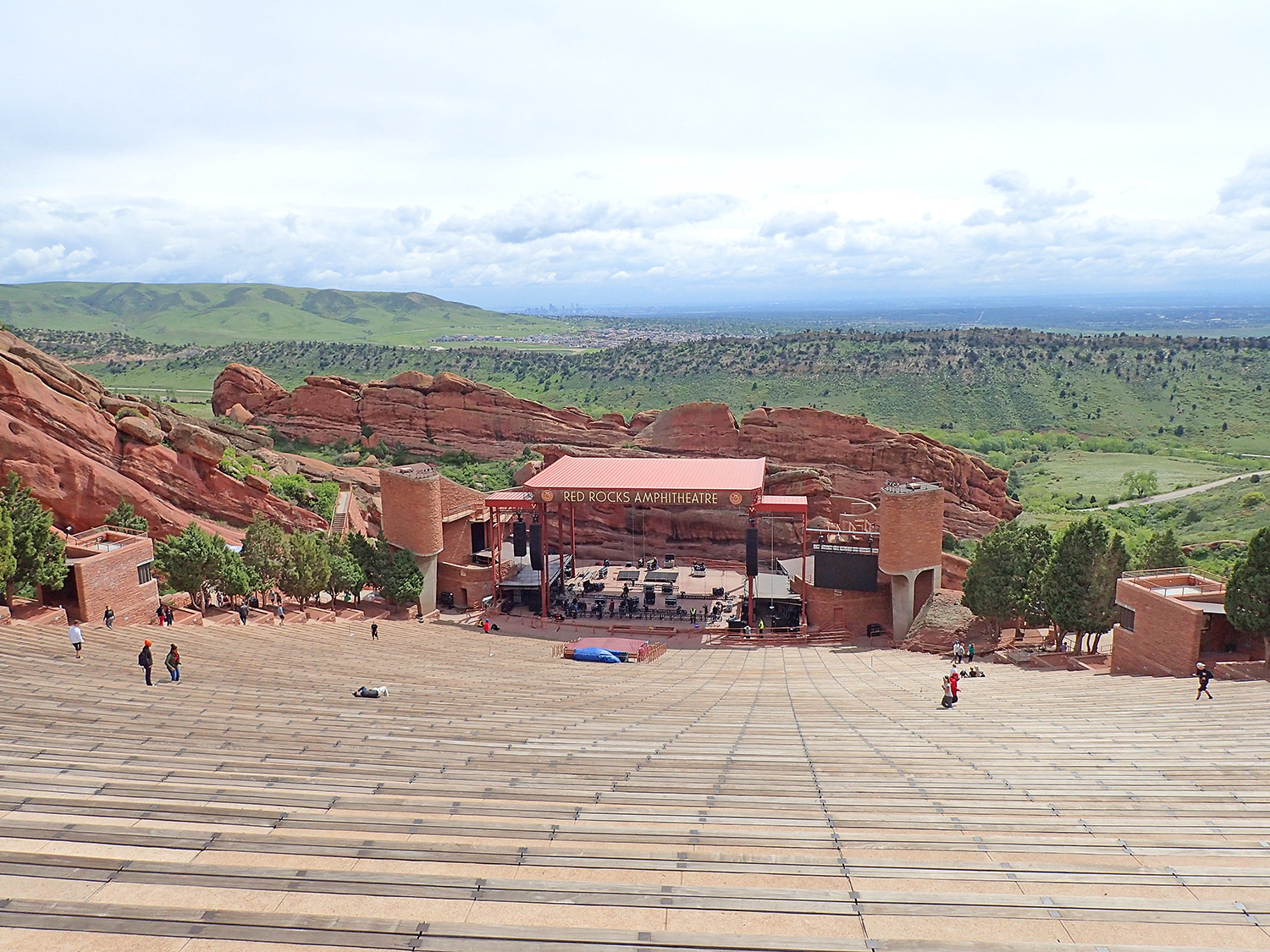 Red Rocks Amphitheater Denver Colorado